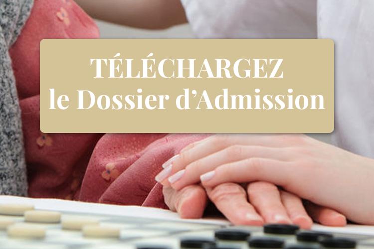 Téléchargez le Dossier d'Admission